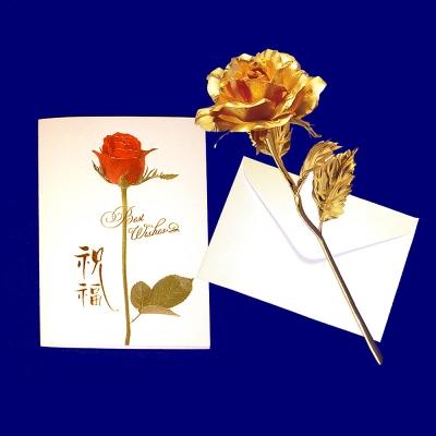 黃金金箔花 玫瑰花/康乃馨 情人節 母親節禮物