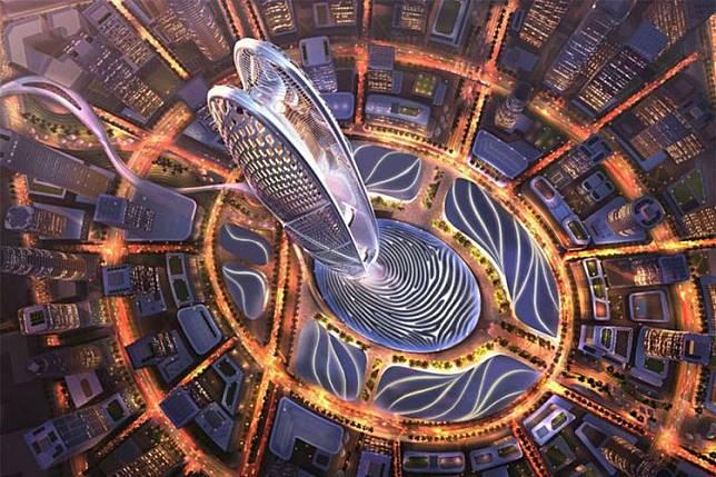 Burj Jumeira, Pencakar Langit Berbentuk Sidik Jari Penguasa Dubai