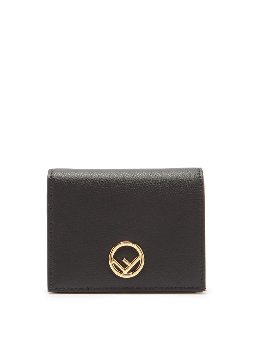 Fendi - This black F is Fendi wallet conveys Fendi's fascination with logos, which dates back to 196