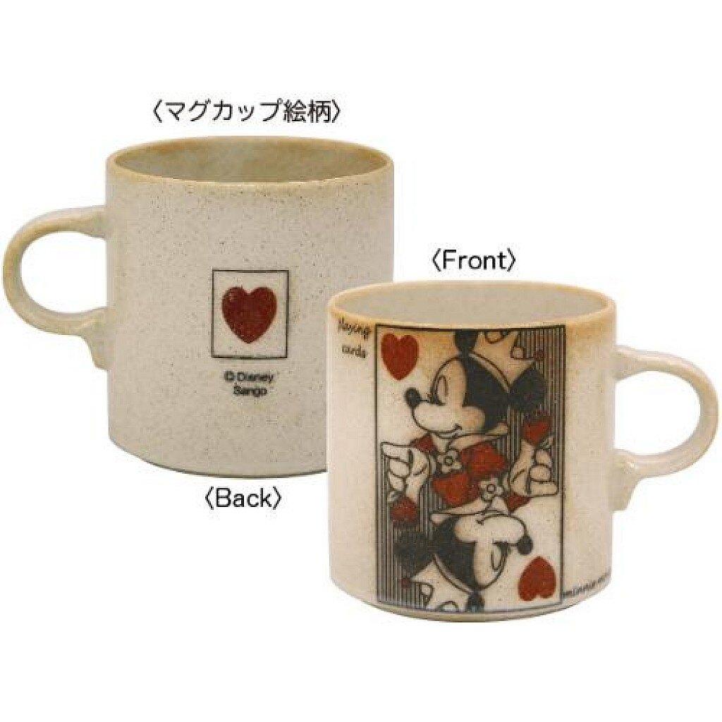 【積文館】撲克牌馬克杯 日本進口 米老鼠 迪士尼 米妮