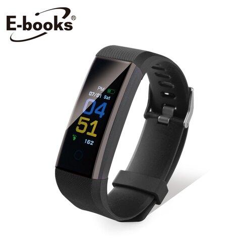 【E-books】V5 黑 藍牙健康運動智慧手環
