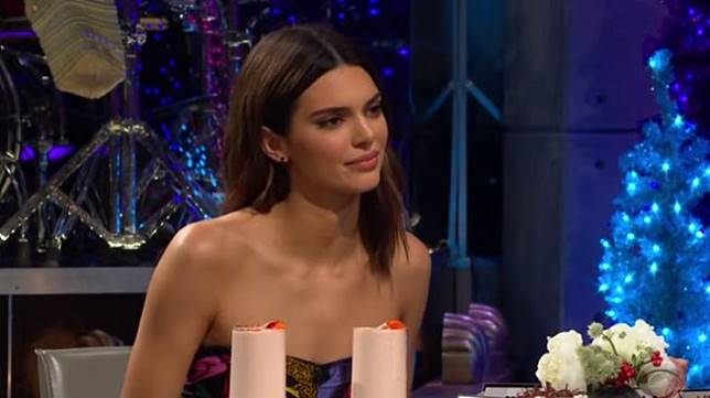 Kendall Jenner dan Harry Styles. (YouTube/The Late Late Show with James Corden)
