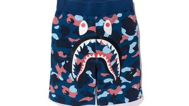今夏必備!A BATHING APE鯊魚短褲
