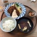 長崎定食 松浦港のアジフライ - 実際訪問したユーザーが直接撮影して投稿した渋谷定食屋d47 SHOKUDOの写真のメニュー情報