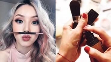 別再做這些小動作!化妝師們的 6 項提醒,你一定要記下來!