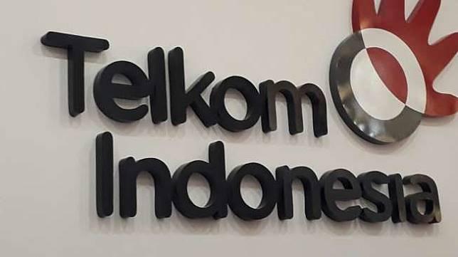 Logo Telkom. [Suara.com/Aditya Gema Pratomo]