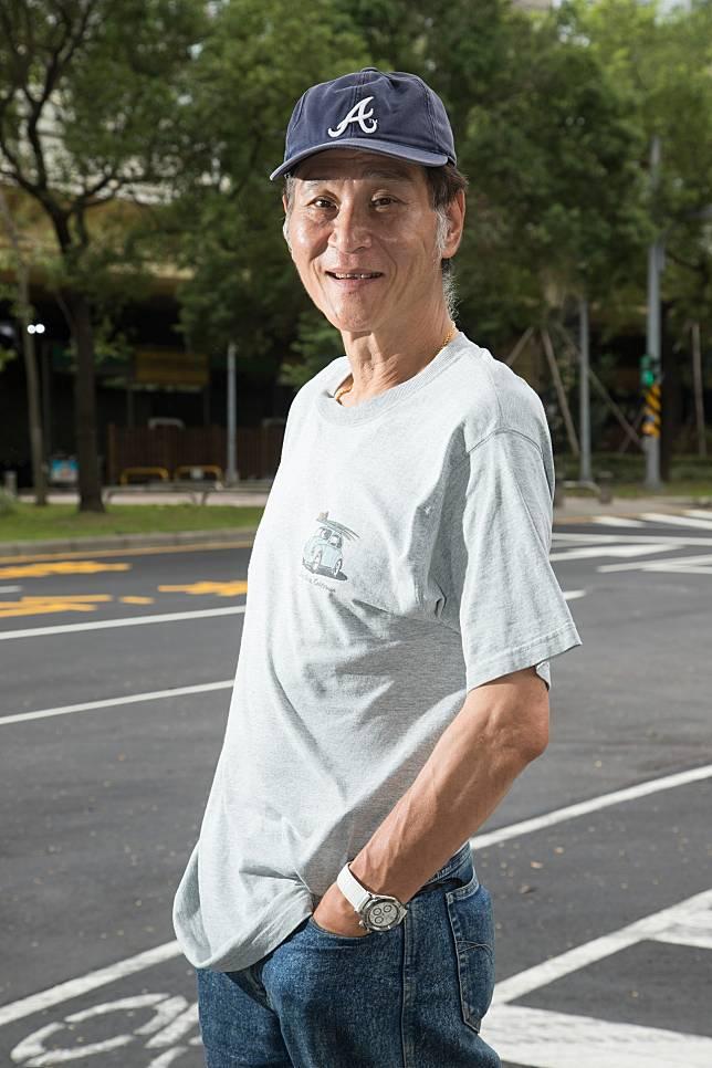 喜翔自己也身為人父,對於演出「蚵豐村」中的嚴父特別有感。記者陳立凱/攝影