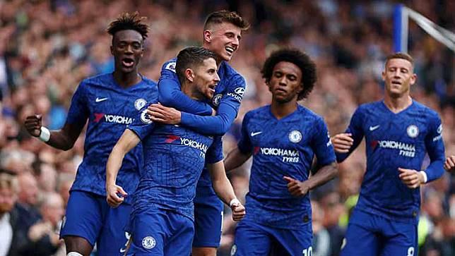 Liga Inggris Chelsea vs Brighton: Lampard Tersenyum