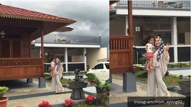 Pendopo di villa Ayu Ting Ting