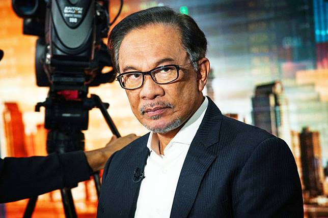Leader-in-waiting: Anwar Ibrahim, founder and president of Malaysia's People's Justice Party, listens during a Bloomberg Television interview in New York, US, on Wednesday.