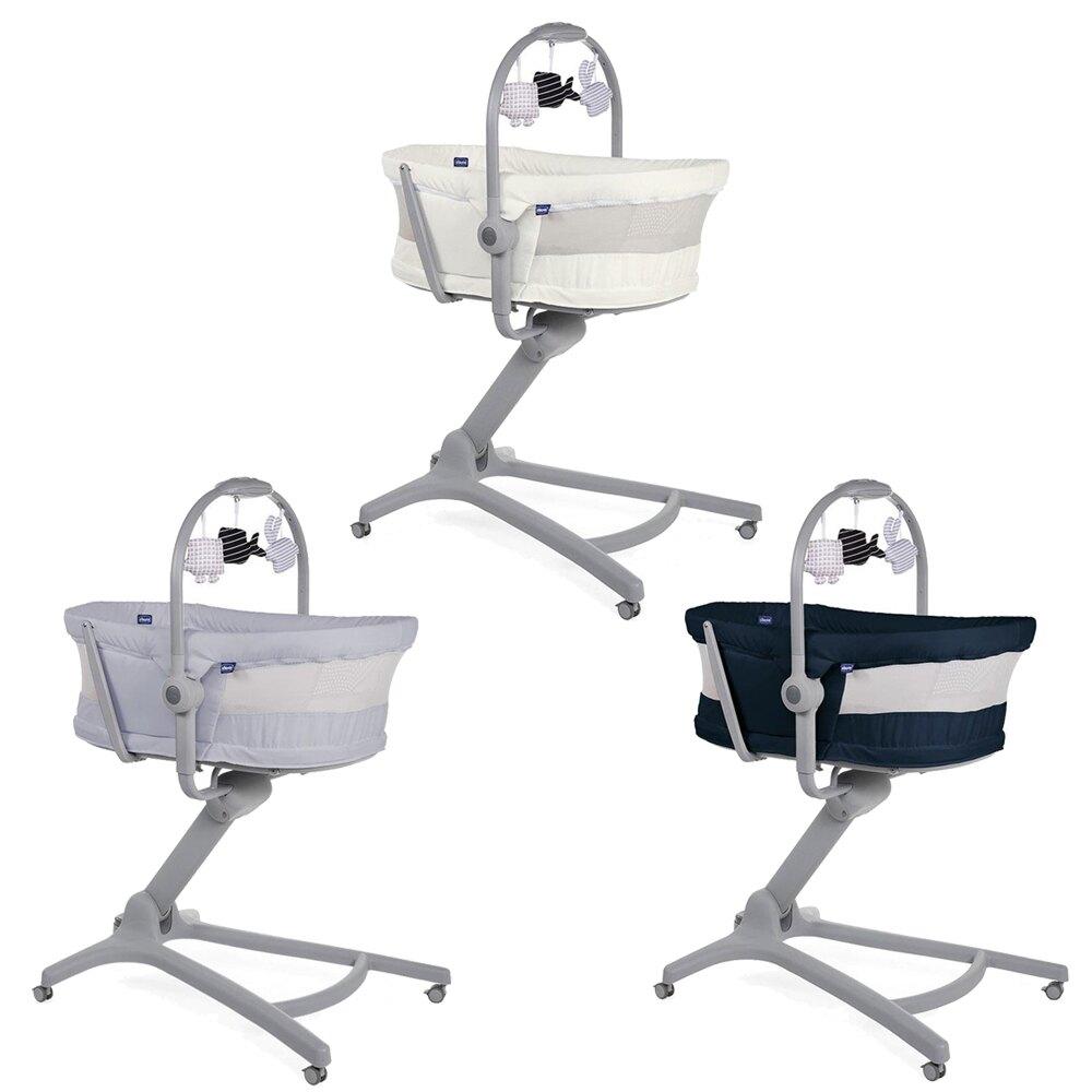義大利 chicco Baby Hug 4合1餐椅嬰兒安撫床Air版
