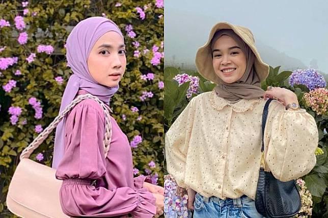 Tren Fashion Hijab 2021 Busana Puff Sleeves Ala Korea Cocok Buat Hijabers Stylo Id Line Today