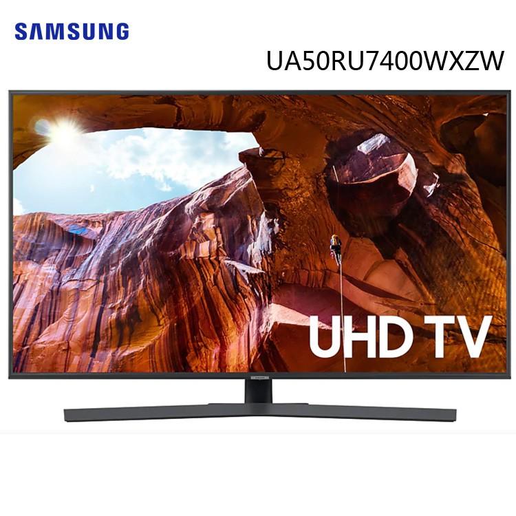 Samsung 三星 UA50RU7400WXZW 50吋 4K UHD 純晶透顯色科技 液晶電視