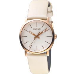 ◎紐約時尚 瑞士工藝 K8Q336X2|◎古典韻味,極簡原創|◎錶殼外方內圓時尚設計品牌:CalvinKlein(CK)型號:K8Q336X2使用族群:女錶手錶特性:三針錶帶材質:皮革錶帶特殊功能:日