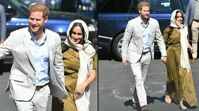 Pangeran Harry dan Meghan Markle. (@celebitchyofficial/instagram)