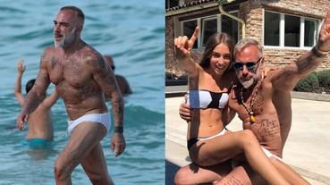 沒見過這種百萬富翁!義大利土豪秀肌肉身材 讓人不敢相信他已 51 歲!