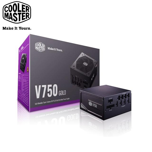 Cooler Master V Gold 全模組化 80Plus金牌 750W 電源供應器