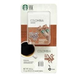 ◎美式賣場 星巴克哥倫比亞即溶研磨咖啡26入|◎|◎一盒