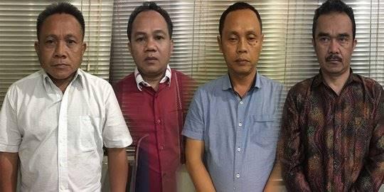 empat anggota KPK gadungan. 2018 Merdeka.com/Ronald