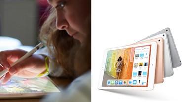 新一代 iPad 可支援 Apple Pencil、AR 等功能直逼 Pro!超親民價格推薦學生族群入手!