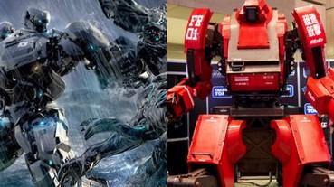 「巨型機器人」戰鬥時代來臨!超熱血影片媲美《環太平洋》