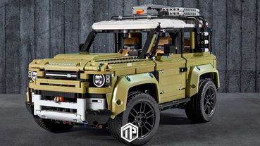 LEGO 推出Land Rover Defender 積木模型!