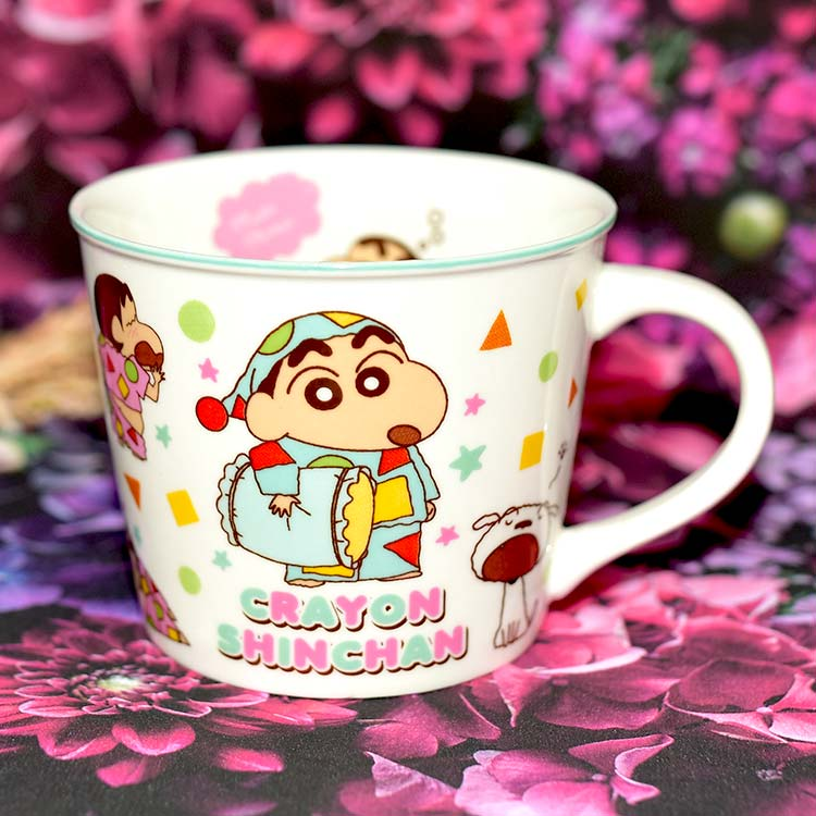 蠟筆小新 陶瓷馬克杯 附彩盒 日本正版品 250ml