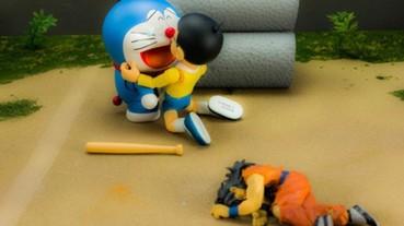 《七龍珠》飲茶戰敗模型 果然被網友拿來玩神惡搞...