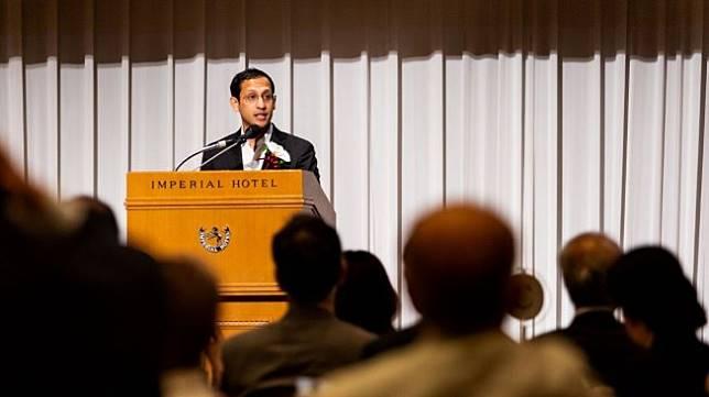 Nadiem Makarim, founder sekaligus Chief Executive Officer (CEO) Gojek. [Suara.com]