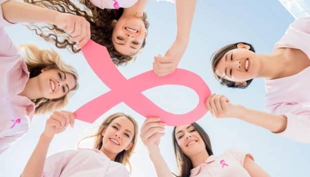Ilustrasi peduli kanker payudara. Shutterstock