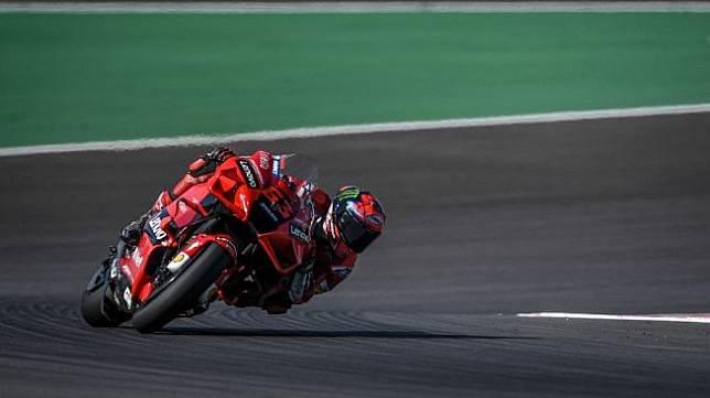 Rider Ducati Team, Francesco Bagnaia. [PATRICIA DE MELO MOREIRA / AFP]