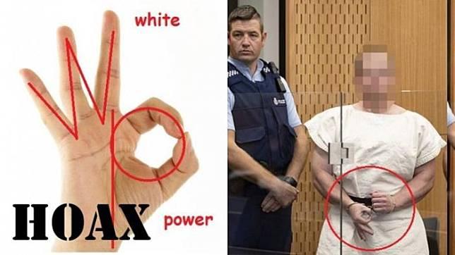 Gestur yang ditunjukkan oleh Brenton Tarrant, pelaku penembakan di Christchurch nyatanya bukan simbol White Power/Supremacy