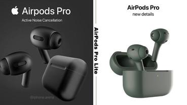 AirPods將推輕巧版「AirPods Pro Lite」?保有降噪功能&更輕巧,果粉敲碗黑色版上市!