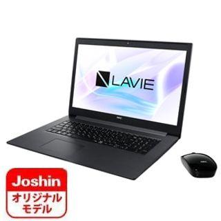 見やすい大画面17.3インチ+大容量SSD512GB搭載(PC-NS550NAB-J)