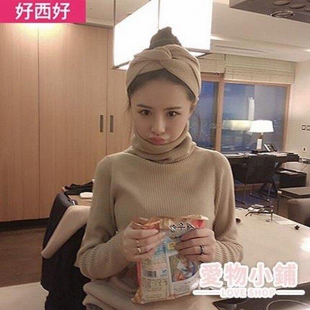 髮帶韓國頭飾甜美歐美森女系chic個性網紅頭巾超仙寬可愛彈力百搭