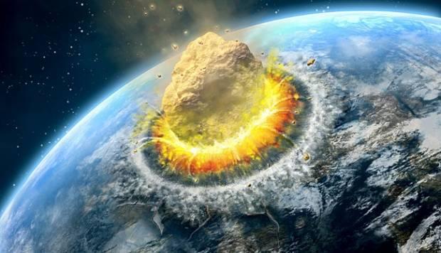 Para ahli menyebutkan bahwa Asteroid yang jatuh ke Bumi menjadi salah satu penyebab berakhirnya kehidupan di dunia. Bila jatuh ke daratan, maka benturan Asteroid akan menghasilkan energi yang lebih besar dari 10 juta bom Hiroshima, meratakan segala sesuatu dalam radius 300 km. Debu dan puing-puing akan menyebabkan 'dampak musim dingin' dan sebagian besar makhluk hidup akan musnah. Kalau asteroid jatuh ke laut, maka akan terjadi tsunami yang  melenyapkan seluruh garis pantai dan melontarkan air laut ke atmosfer yang menghancurkan sebagian besar lapisan ozon sehingga terjadi radiasi Ultra Violet yang mematikan. tooopen.com