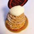 モンブラン - 実際訪問したユーザーが直接撮影して投稿した千駄ケ谷ケーキパティシェリアの写真のメニュー情報