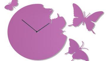 【年度經典】看時間隨著蝴蝶鐘一起飛