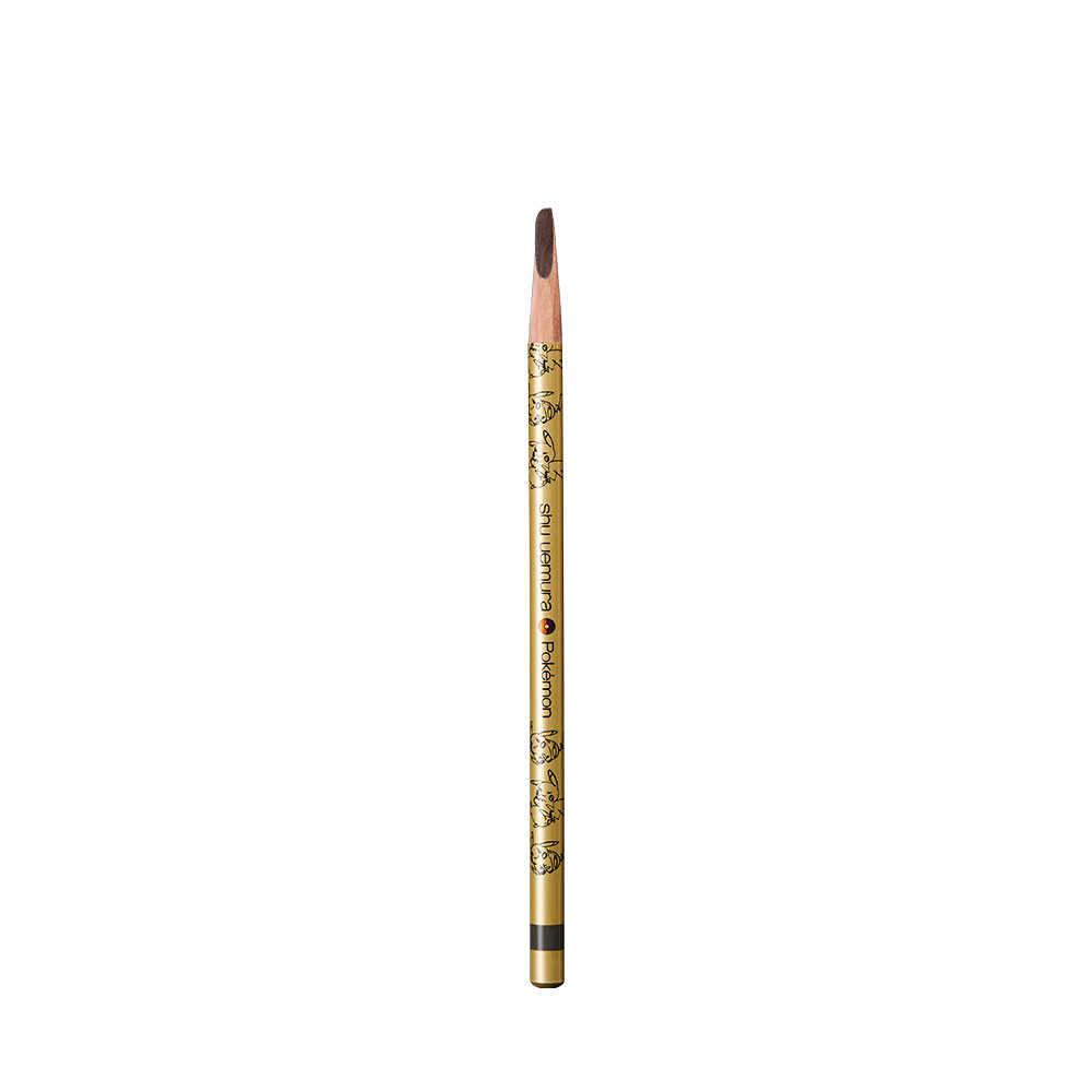 shu uemura x Pokémon限量聯名彩妝系列【武士刀眉筆】,植村秀眉筆銷售長紅的經典灰棕色武士刀眉筆,能打造令人矚目的完美眉型。