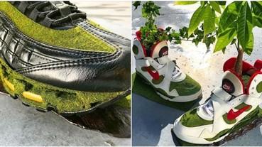 球鞋氧化、泛黃就必須丟嗎?!日本藝術家想到用這招來延長球鞋壽命