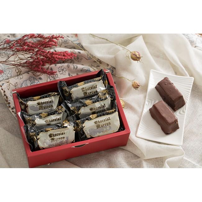 月之戀人 小紅帽禮盒-栗子巧克力燒