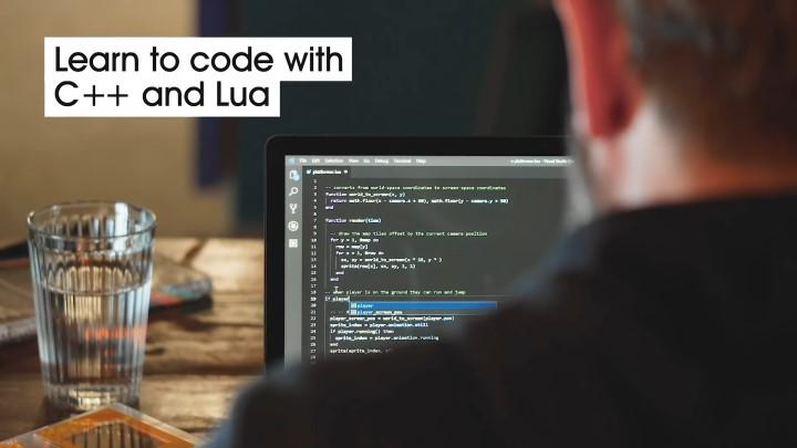 遊戲開發工具支援C++、Lua等程式語言。