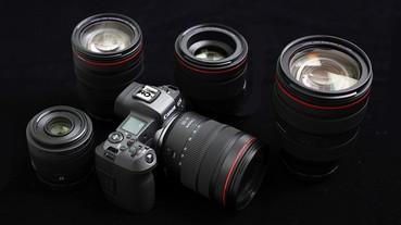 第一手測試!Canon EOS R 與 RF 鏡頭、轉接環總整理/動手玩