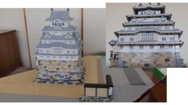 【有片】用LEGO砌出日本歷史古蹟「姬路城」
