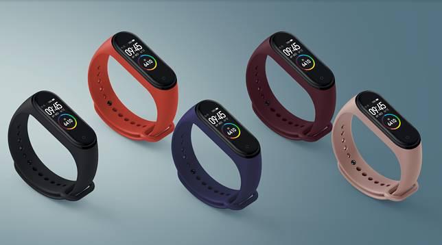 小米手環4($219)現已正式開售,共有5款顏色,錶帶可以更換。