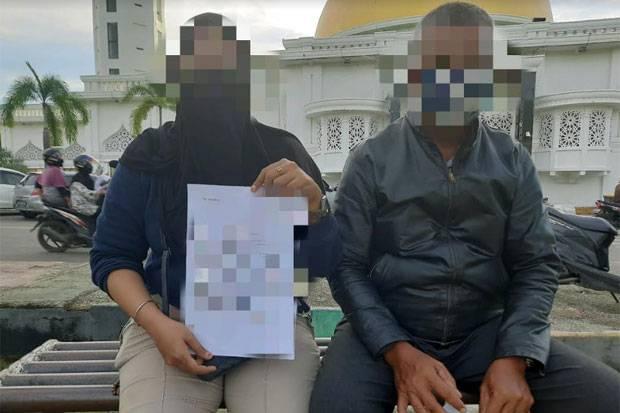 Proses Hukum Berlanjut, Kades Yang Cium Pipi Mahasiswi Ngaku Khilaf