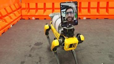 看病免接觸!機器狗加掛 iPad 可讓醫護人員遠端遙控