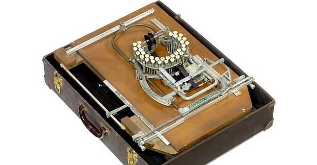 50年代的樂譜打字機