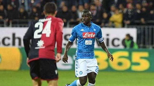 Pemain belakang Napoli, Kalidou Koulibaly