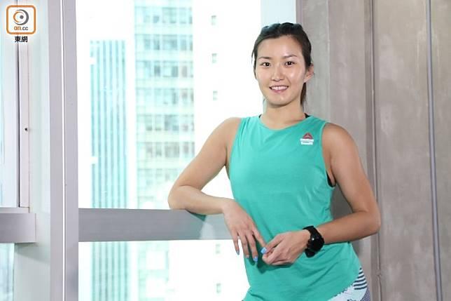健身教練及健美運動員Clara Wong(張錦昌攝)